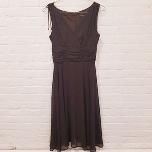 COPY - Chocolate Brown Chiffon Dress